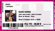 Billet Glenn Hughes Paris 2015